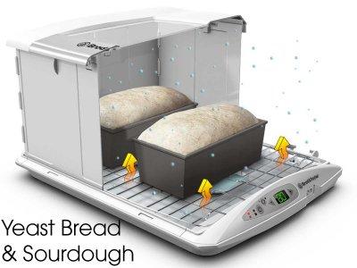 Brod & Taylor Gärautomat Gärmaschine Gärbox mit Temperaturanzeige neues Modell