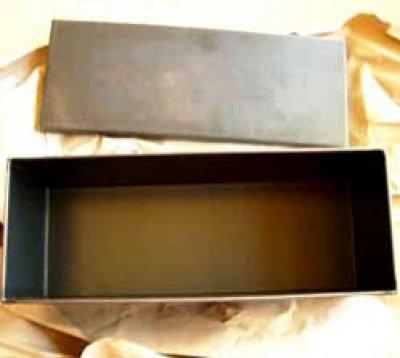 Brot-Back-Form mit Deckel 1.5kg Blauglanz
