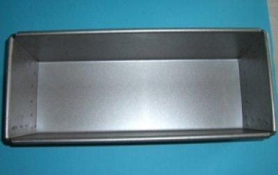Brot-Backform 1.5kg Stahl aluminiert