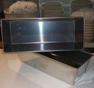 Brotbackform Edelstahl 2 kg