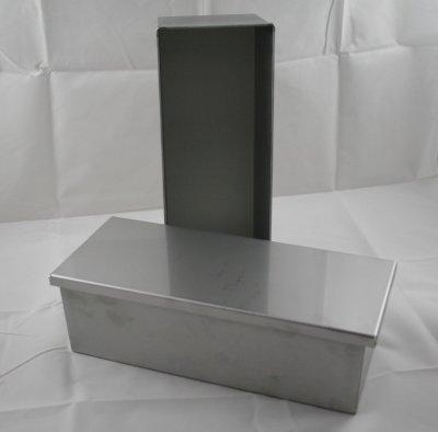Brotbackform Premium 1.5kg Edelstahl mit Deckel