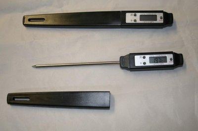 Digitalthermometer, Einstichthermometer