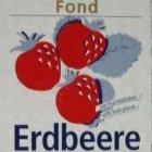 Erdbeere Sahnestand Sahnefest Sahne Fond